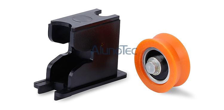 Hot Sale Sliding Plastic Roller With Pulley For Window